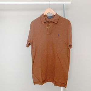 Brown Polo Ralph Lauren men's shirt